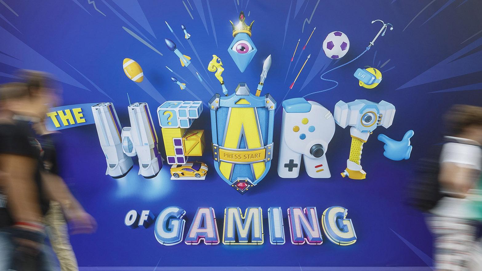 The heart of gaming at Gamescom